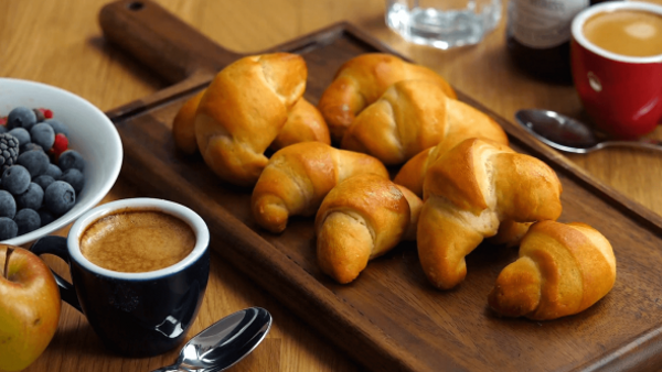 Recipe: Easy Vegan Croissants