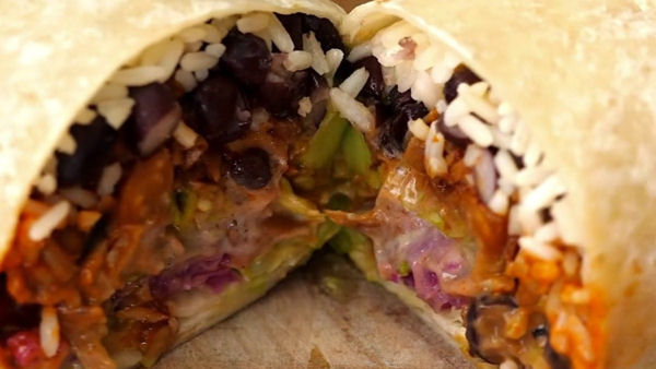 Vegan Recipe: The World's Best Burrito