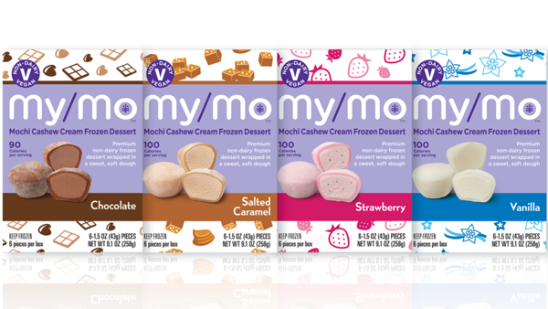 My/Mo Mochi Launches Cashew Cream Frozen Desserts