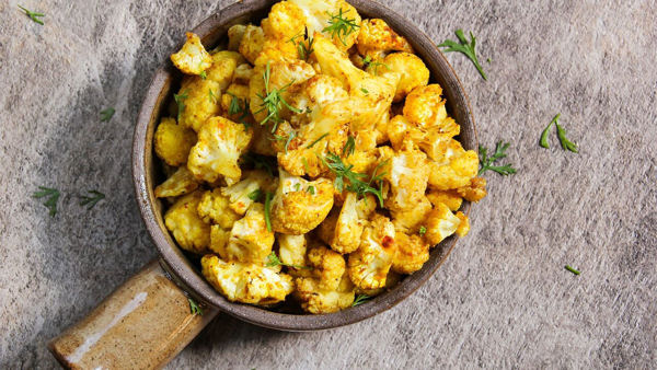 Dr. McDougall's Potato Cauliflower Curry Recipe