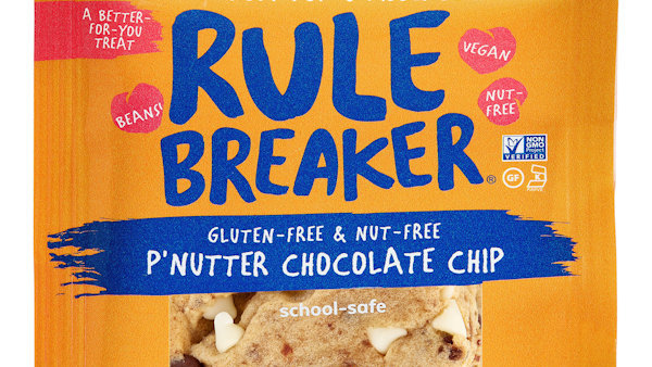 New Nut-Free P'Nutter Chocolate Chip Treats from Rule Breaker Snacks
