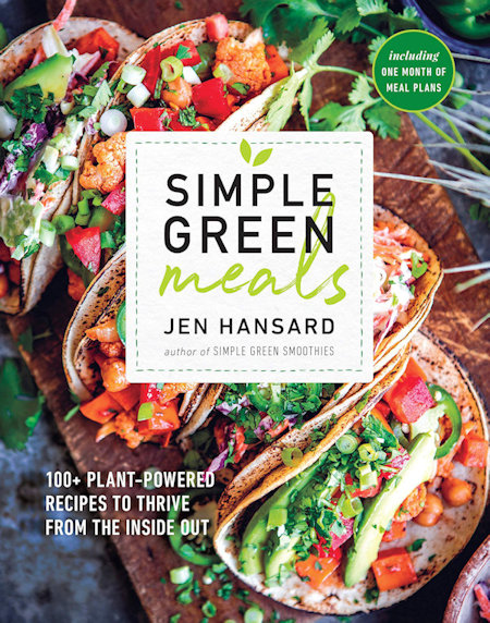 Simple Green Meals top