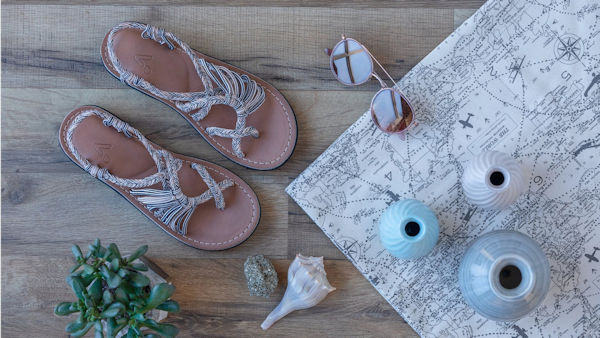 Vines Islandwear – The Vegan Coconut Scented Sandal