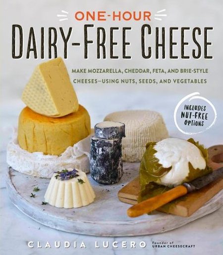 One-Hour Dairy-Free Cheese top