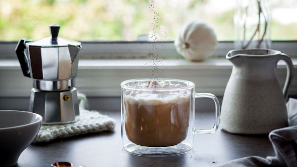 Vegan Recipe: Pumpkin Spice Adaptogen Latte