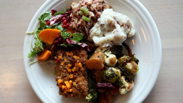 14th Annual FREE Thanksgiving Meal at Café Gratitude, L.A.
