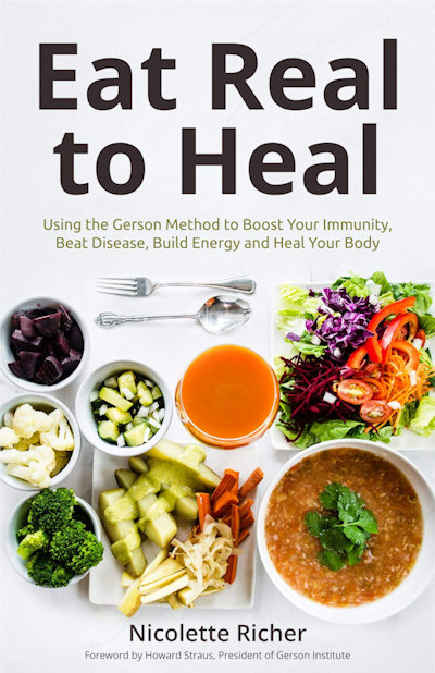 Eat Real to Heal book cover