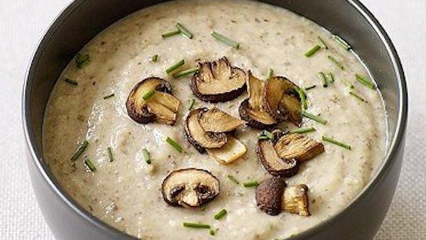 Creamy Mushroom Bisque