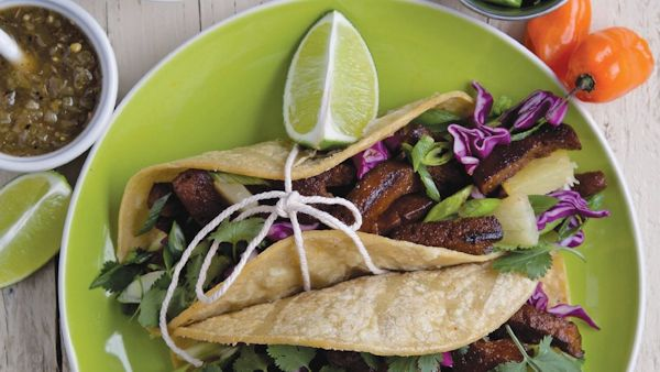 vegan tacos book
