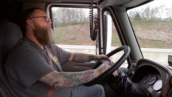 trucker gone vegan