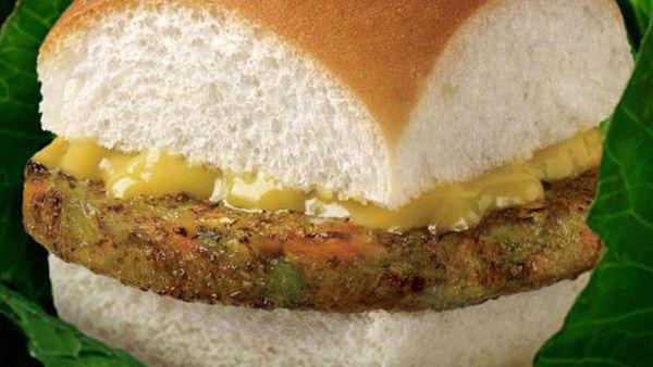 White Castle veggie burger