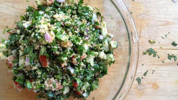 Bulgur Salad