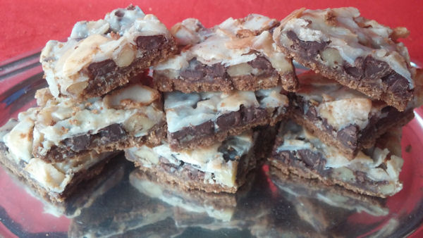 5 layer cookie squares