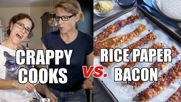 Crappy Cooks vs Vegan Recipes