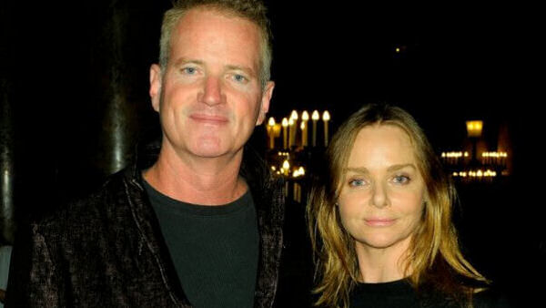 Stella McCartney with PETA's Dan Mathews
