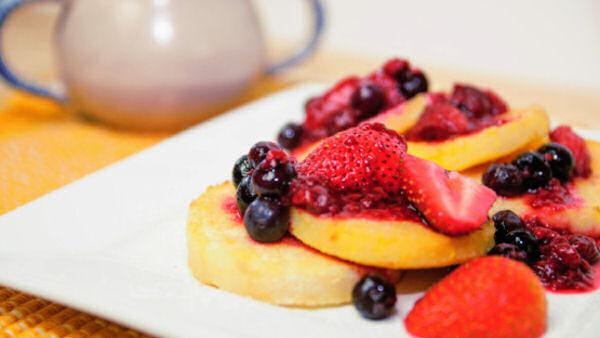 Polenta french toast