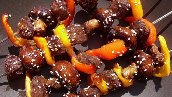 Gardein Spicy Beefless Skewers