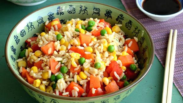Healthy Vegan Fried Rice