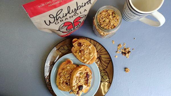 Whirlybird Granola Nut Butter Toast
