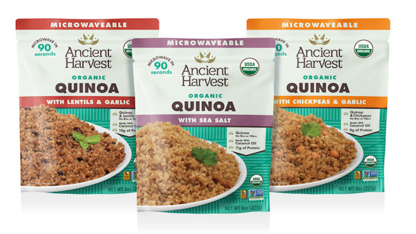 Lunch in 90 Seconds with Ancient Harvest's Organic Heat-and-Eat Quinoa