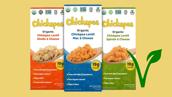 Chickapea Pasta Releases First- of-its-kind Line of Vegan Mac