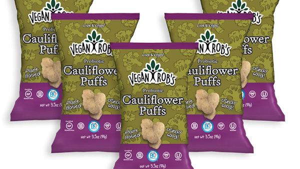 Vegan Robs Probiotic Cauliflower Puffs