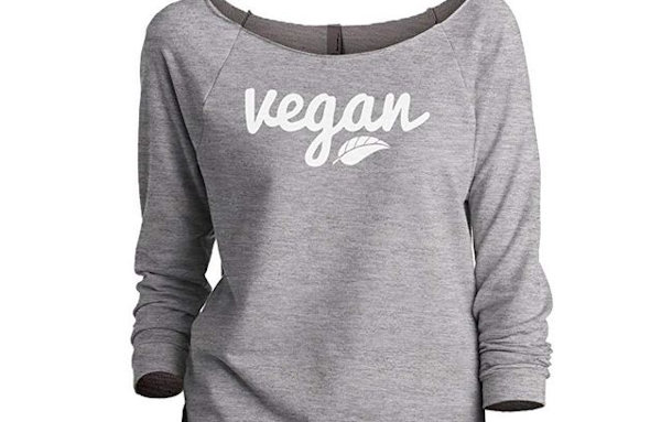 vegan slouch shirt