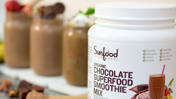 Delicious Chocolate Superfood Smoothie Mix & Recipes