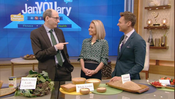 Watch Dr. Greger on Live with Kelly and Ryan