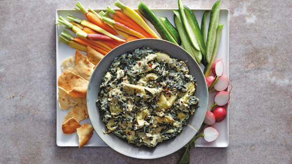Fool Em Cream Cheese Spinach-Artichoke Dip