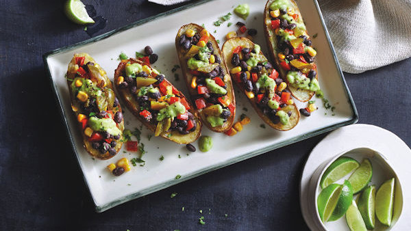 Vegan Recipe: Tex-Mex Potato Skins
