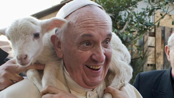 $1 Million Offered to Charity if Pope Goes Vegan for Lent