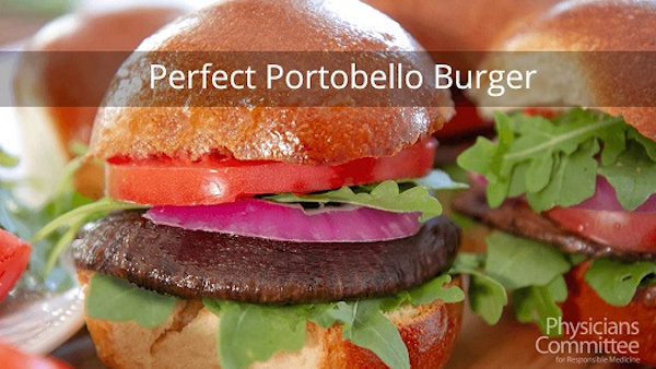 Vegan Recipe: The Perfect Portobello Burger