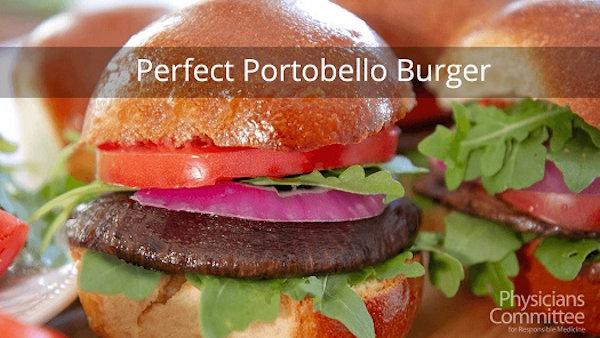 Perfect Portobello Burger