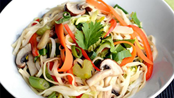 Dr. McDougall's Asian Noodles & Vegetables for Chinese New Year