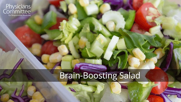 Vegan Recipe: Brain-Boosting Salad
