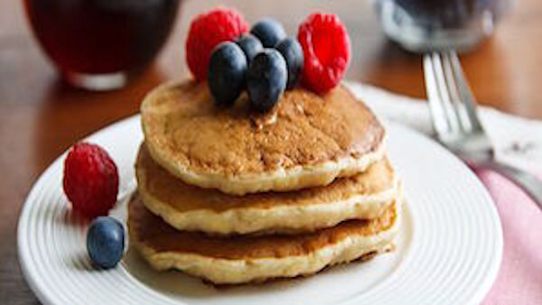 Vegan Breakfast Recipe: Pancakes