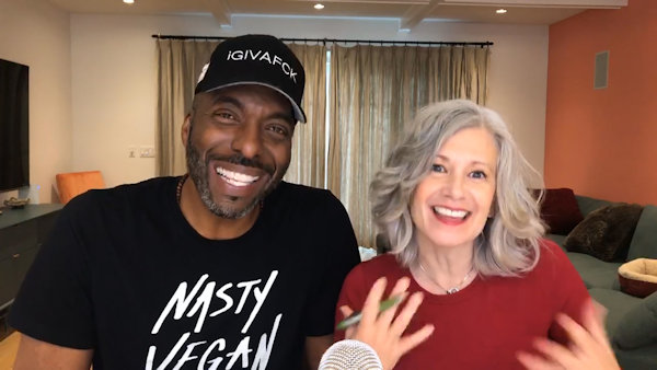 Basketball Legend John Salley Talks with Awesome Vegans, Elysabeth Alfano