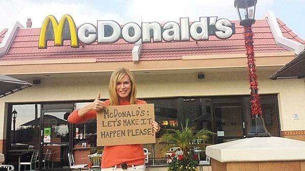 Kathy Freston McDonalds
