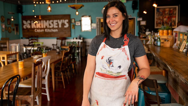 Meet Krimsey Ramsey of the World's First Cajun Vegan Restaurant