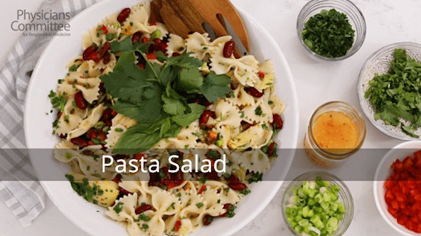 Vegan Recipe: Pasta Salad