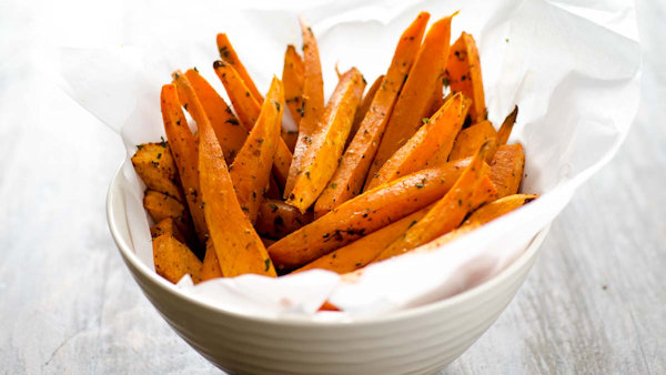 Vegan Recipe: Sweet Potato Fries