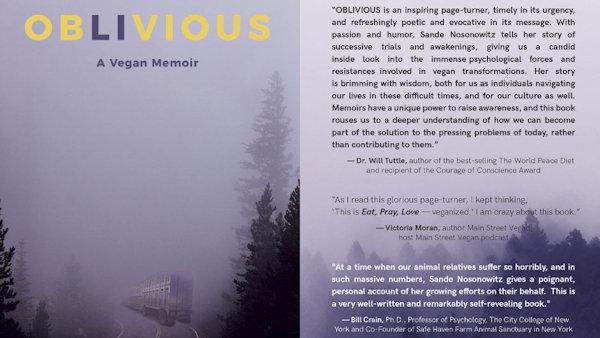OBLIVIOUS: A Vegan Memoir