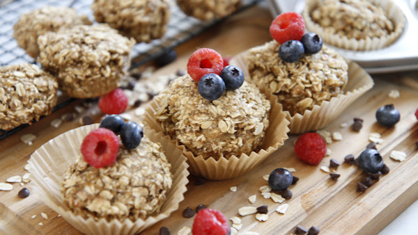 Vegan Recipe: Baked Oatmeal Cups