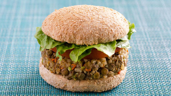 Vegan Recipe: Lentil Vegetable Burgers