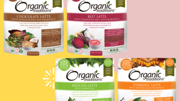 Organic Traditions Offers Delicious Dairy-free Lattes