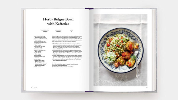 The Greek Vegetarian Cookbook recipe