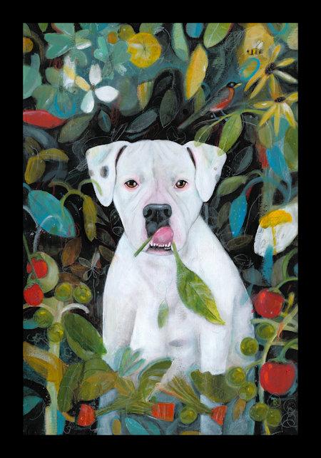 Dog Vegetable Garden book
