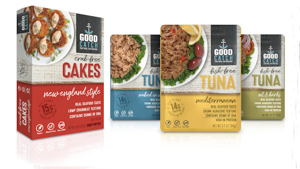 Good Catch, Plant-based Seafood, Closes $10M Funding