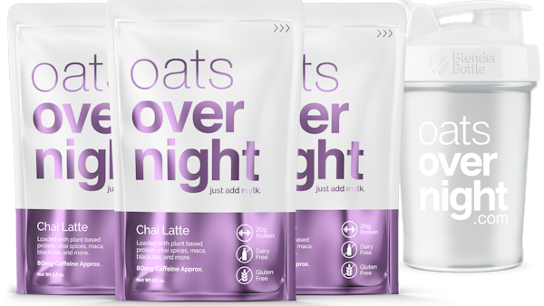 Oats Overnight Introduces New Vegan Chai Latte Flavor